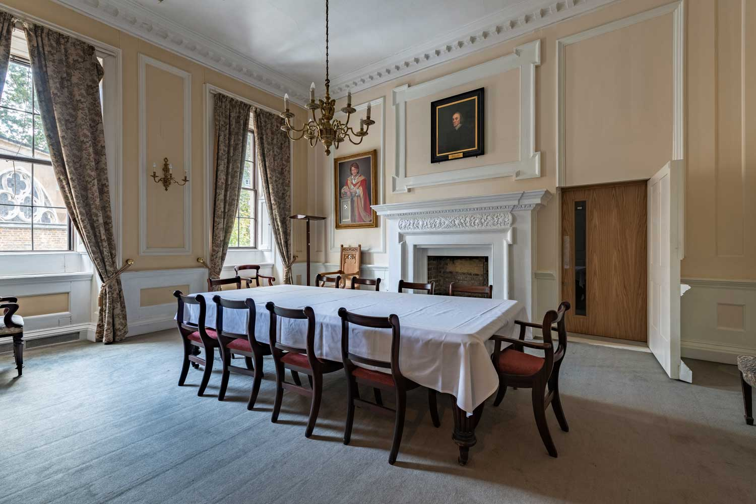 The Treasurer's Room in the North Wing