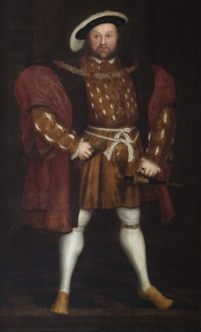 Portrait of Henry VIII after Hans Holbein the Younger
