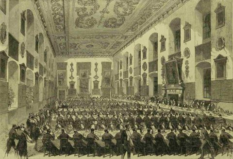 Illustrated London News 23 May 1868 Great Hall