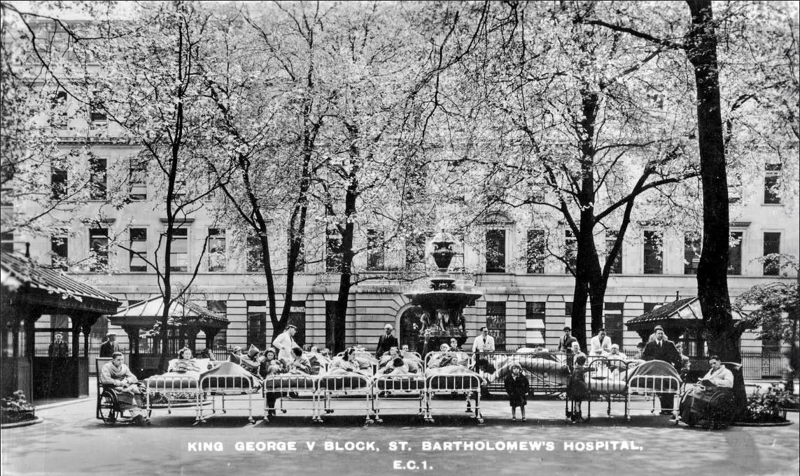 King George V block