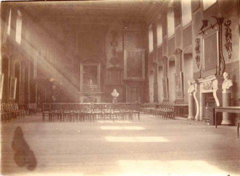 SBHX8/124 Great Hall looking west, c.1902-8 1902-08