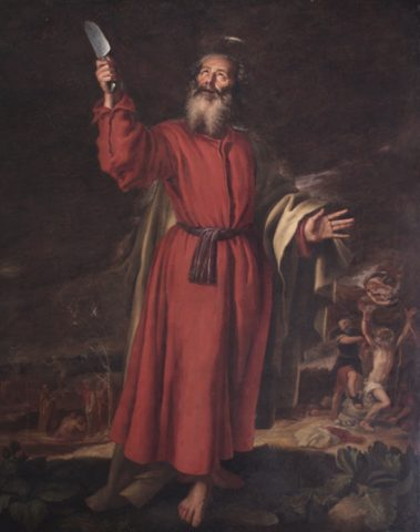 St Bartholomew by Vicente Carducho 1576-1638