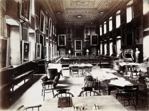 The Great Hall 1908 – Wellcome Library 28887i