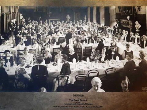 International Council of Nurses banquet