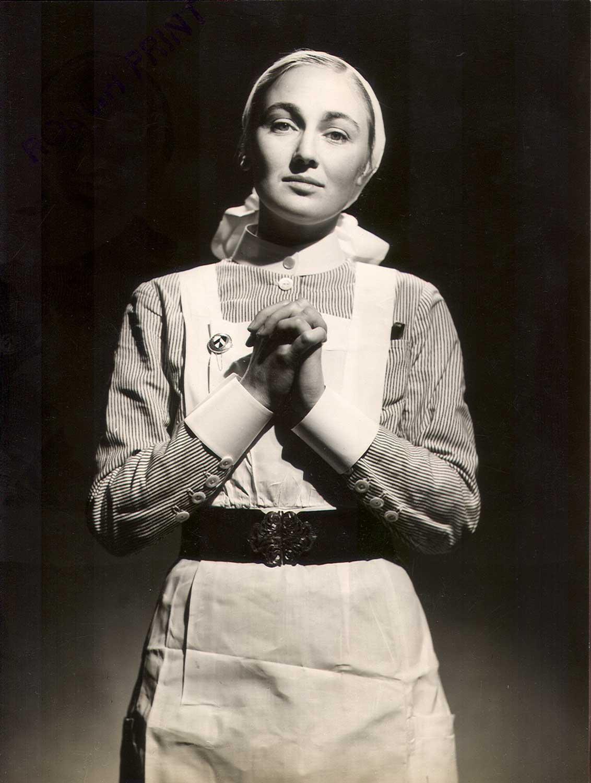 Portrait of a Barts Nurse