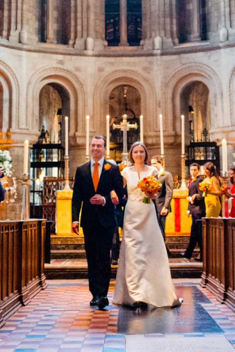 Wedding at St Barts the Great