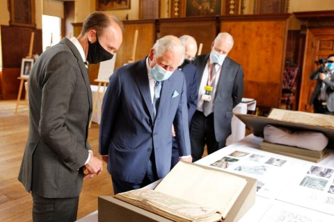 HRH The Prince of Wales visits the Great Hall
